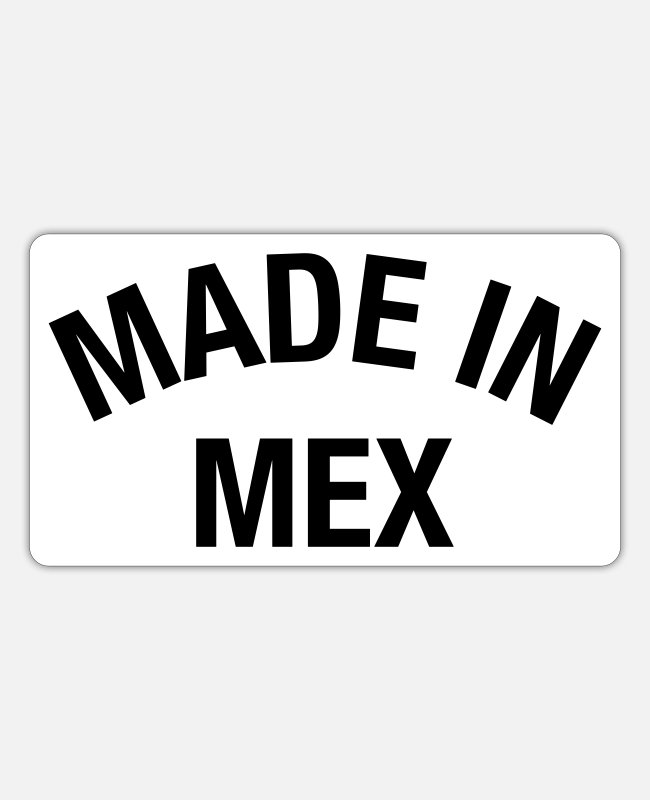 Made Stickers - MEXICO - Sticker white matte