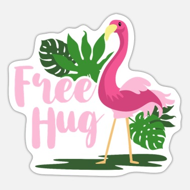 Embracement Embrace Flamingo - Sticker