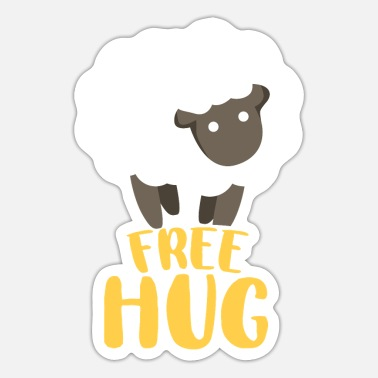 Embracement Embrace sheep - Sticker