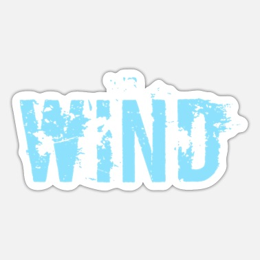 Wind Wind - Sticker