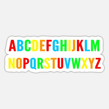Alphabet Alphabet - Sticker