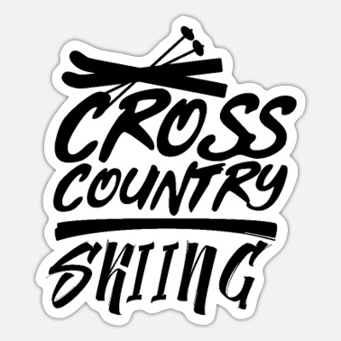 Cross Country Cross-Country - Sticker
