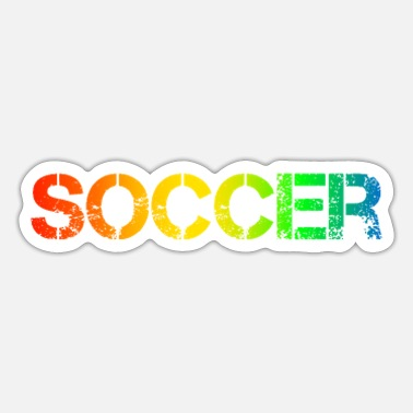 Soccer Soccer, soccer player, soccer match, - Sticker