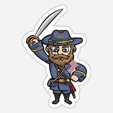 Southern States AMERICAN UNION SOLDIER Southern States Southerner - Sticker