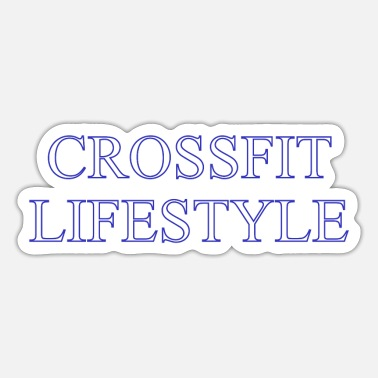 Crossfit Crossfit Lifestyle - Sticker