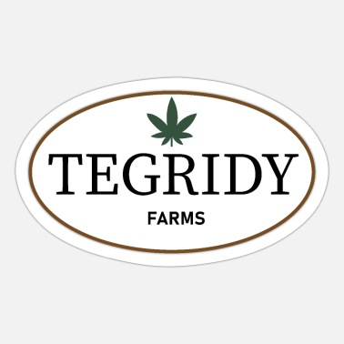 Lampin 22nd Century Movies & TV Tegridy Farms Farming - Sticker