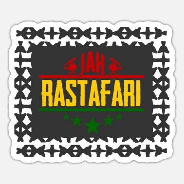 Rastafari jah rastafari - Sticker
