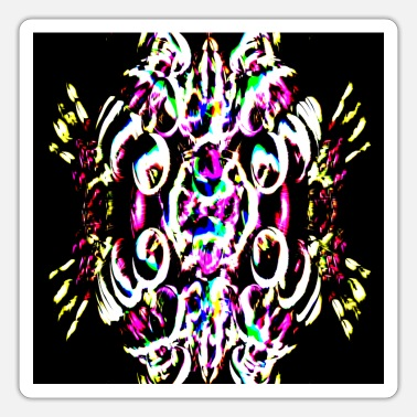 Neon Neon plays of light, Neon Lichtspiele - Sticker
