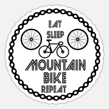 Mountain Biking Mountain Bike - Sticker