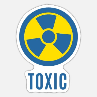 Anti Nuclear Power Toxic - Sticker