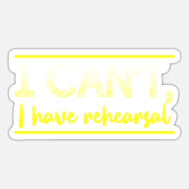 Performance Actor Performance - Sticker