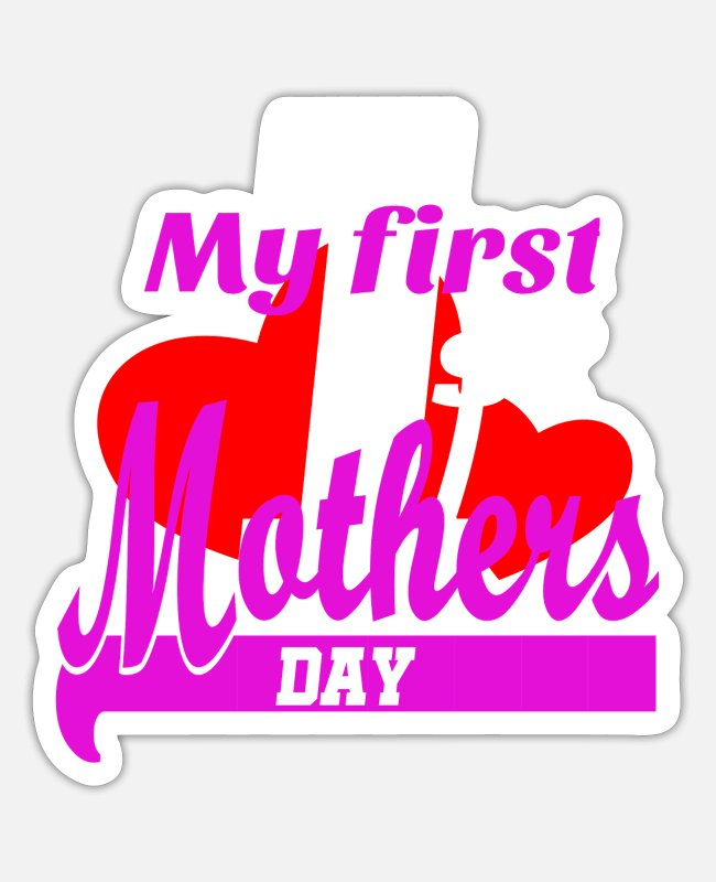 Father's Day Stickers - Mothers Day Gift - Sticker white matte