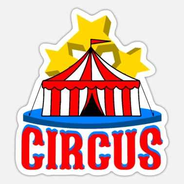 Performance Circus Performance - Sticker