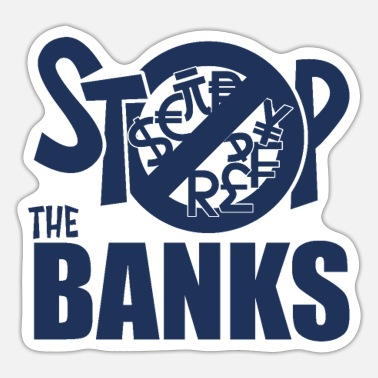 Bank Banks - Sticker