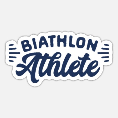 Biathlon Dad Biathlon Runner - Sticker