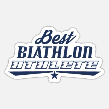 Biathlon Dad Biathlon Runner Biathlon Biathlons Sports Athlete - Sticker