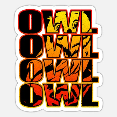 Owl Owl - Sticker