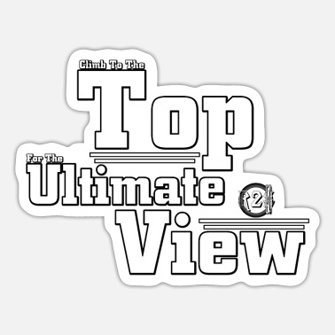 View Ultimate View - Sticker