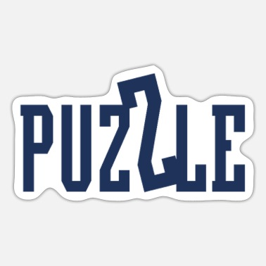 Puzzle Puzzling - Sticker
