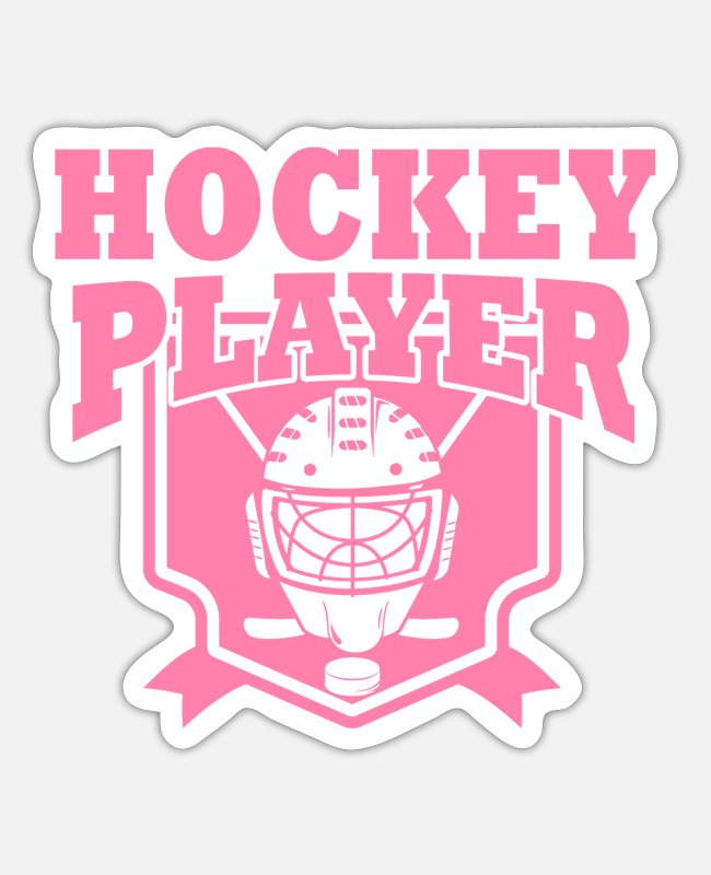 Floor Hockey Stickers - Hockey - Sticker white matte