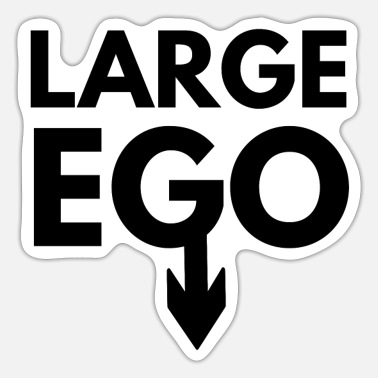 Large Large Ego - Sticker