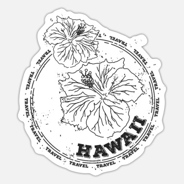 Hawaii Hawaii - Sticker