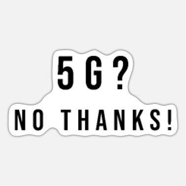Networking 5G Network - Sticker
