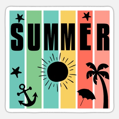 Summer Hello Summer - Sticker