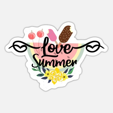 Summer Love Summer - Sticker