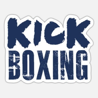 Kick Kick Boxer - Sticker