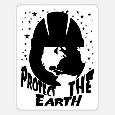 Protection Protect the earth - Sticker