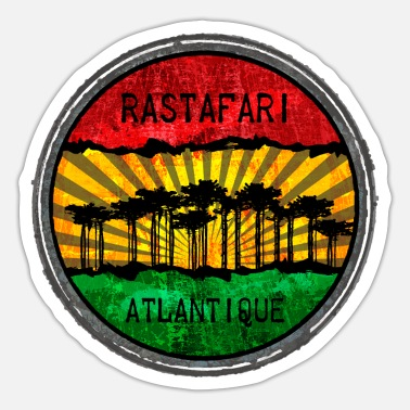 Rastafari Rastafari Atlantic - Sticker