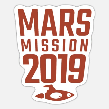 Birth Of Venus Mars Mission 2019 - Sticker