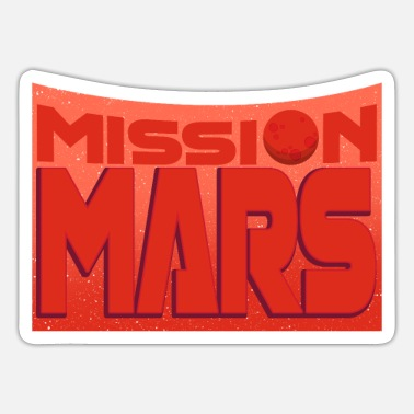 Birth Of Venus Mars Mission - Sticker