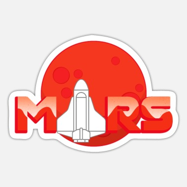 Birth Of Venus Mars - Sticker