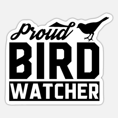 Bird Birds Watch - Sticker