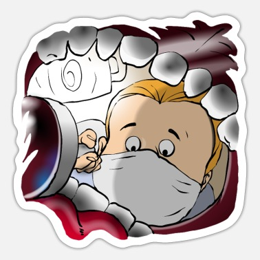 View Dentist View - Sticker