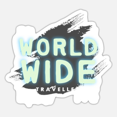 Travel Travel Travel Travel Traveller Holiday Traveler - Sticker