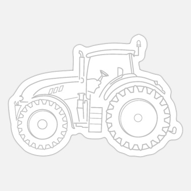 Heavy Truck Heavy-duty tractor - Sticker