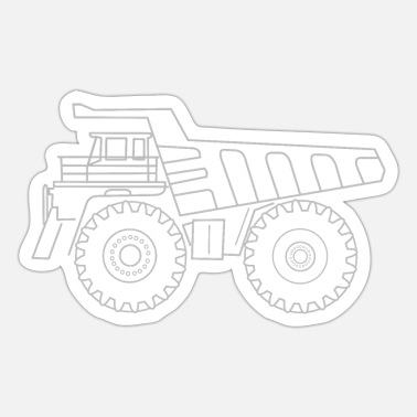Heavy Truck Mining truck - Sticker