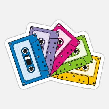 Audio Audio Cassettes - Sticker