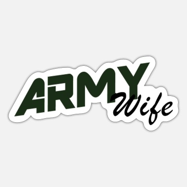 Army Wife Army Wife - Sticker