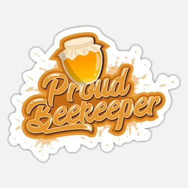 Proud Proud Beekeeper - Sticker