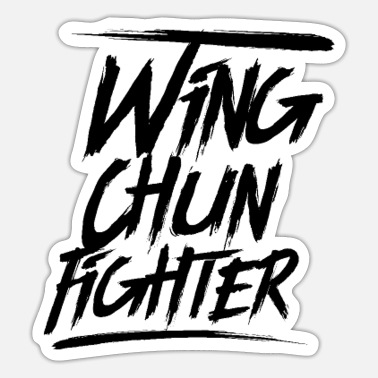 Wingtsun Martial Arts Wing Chun WingTsun Kung Fu Fighter - Sticker
