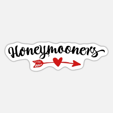 Honeymoon Honeymooners - Sticker