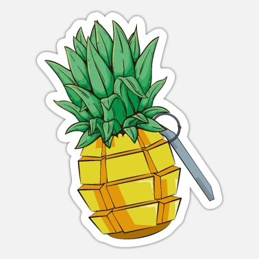 Pineapple Grenade - Sticker