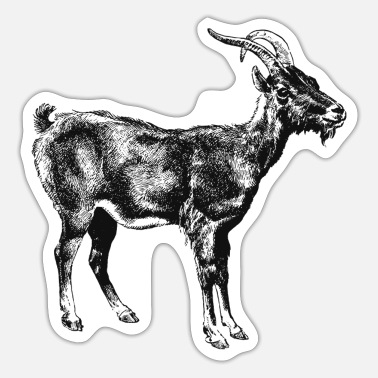 Goat Goat - Sticker