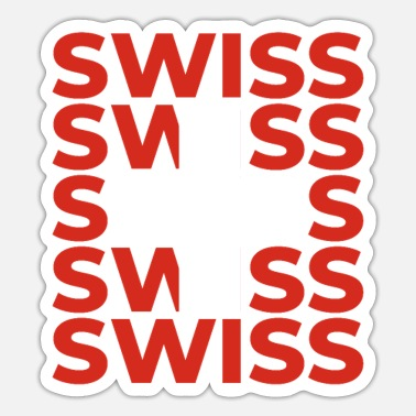 Swiss Swiss - Sticker