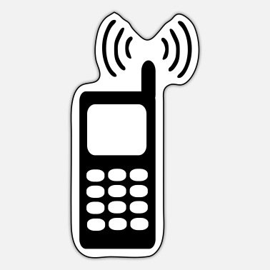 Cell Cell - telephone - Sticker