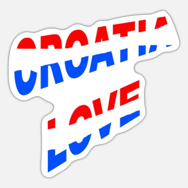 National Colours Croatia National colours love - Sticker